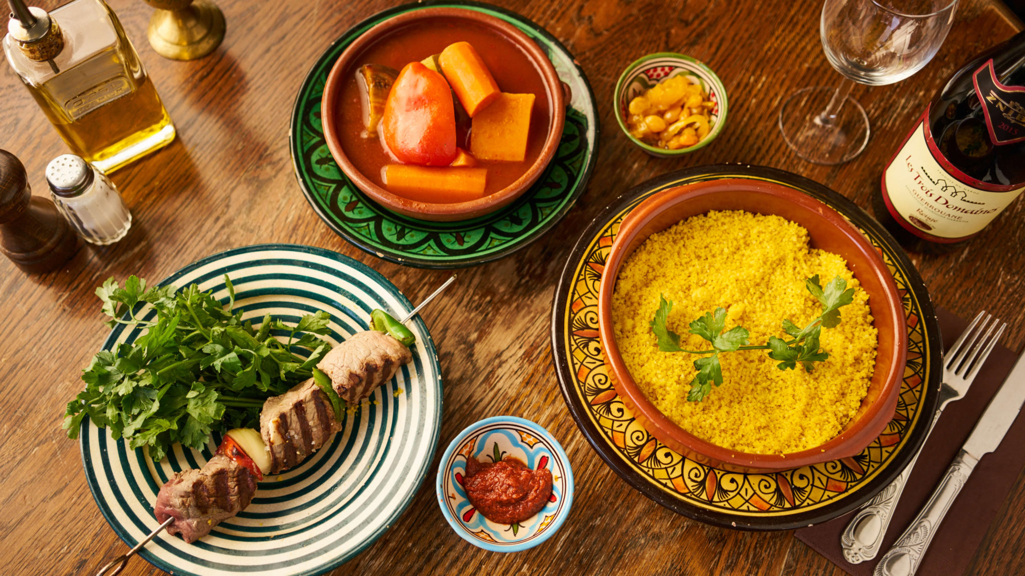 restaurant Bruxelles woluwé alma marocain français