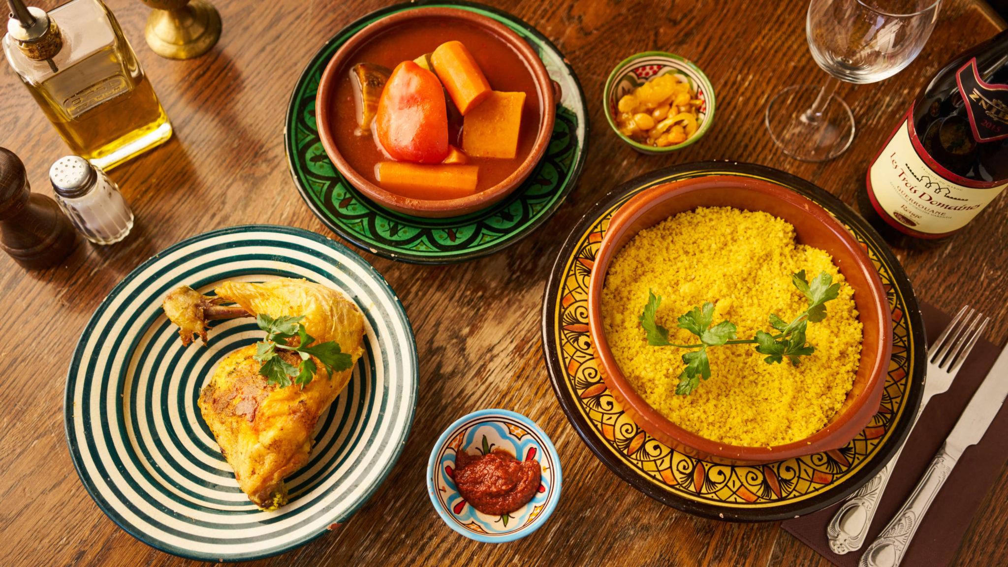 Restaurant marocain et français Bruxelles Belgique Woluwe